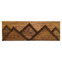 Wood mountain art Mountain Art, Wood, Design, Home Decor, Decoration Home, Woodwind Instrument, Room Decor, Timber Wood