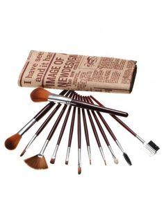 12Pcs Makeup Brushes Kit