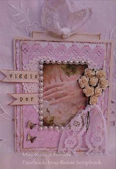 Bryllupskort (May-Runas Scrapbook)