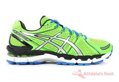 ASICS Mens Gel-Kayano 19 Neon Green/Lightning/Sapphire FIT for: Runners that need some stability.. and enjoy exclusive new colours.
