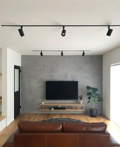 amazing tv wall design ideas for living room decor 3 ~ Beautiful House Lovers Feature Wall Living Room, Living Room Tv Unit, Home Living Room, Interior Design Living Room, Living Room Designs, Feature Wallpaper Living Room, Tv Wall Ideas Living Room, Feature Walls, Tv On The Wall Ideas