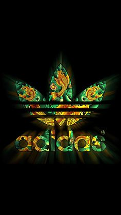 Adidas Dark Logo Pattern Shiny #iPhone #6 #plus #wallpaper
