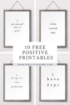 10 free positive pri