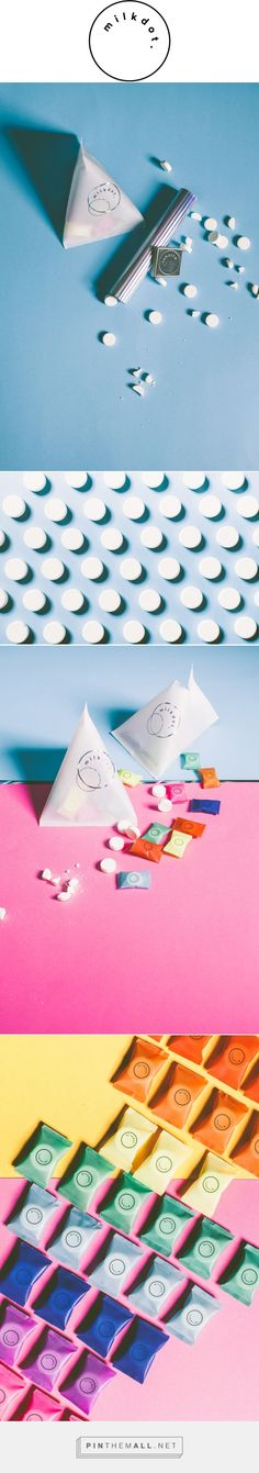 milkdot. / Packaging design for milk drops made out of milkpowder and honey. by Daniel Farò