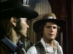 Western TV show: Alias Smith & Jones, Hannibal Heyes & Kid Curry, starring Pete Duel & Ben Murphy. Episode:The McCreedy Bust: Going, Going, Gone
