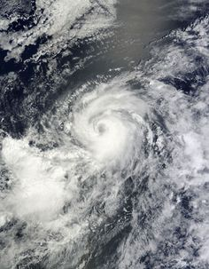 Hurricane Iselle (09E) in the eastern Pacific Ocean