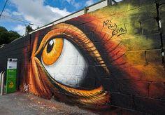 #Streetart by Eoin in Bantry (Ireland)