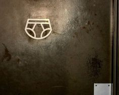 Signos baños Publicos / Señales de baño: Original señal para cambiar bebes…