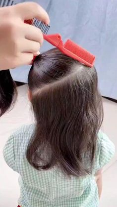 Front Hair Styles, Curly Hair Styles, Natural Hair Styles, Ag Doll Hairstyles, Easy Hairstyles, Permanent Hair Dye, Toddler Hair, Synthetic Wigs, Hair Videos