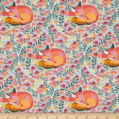 Tula Pink Chipper Fox Nap Sorbet