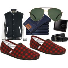 cc by usagikak on Polyvore featuring Sophnet., TOMS, Gucci, Tod's, men's fashion and menswear