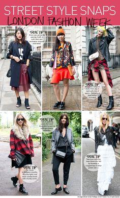 London Fashion Week Street Style S2014