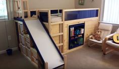 This extreme IKEA bed hack is the stuff of a kid's dreams.