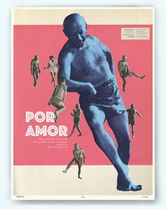"""Loved Picasso"" collage poster"