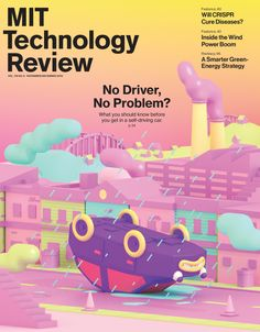 MIT Technology Review cover, illustration by Julian Glander