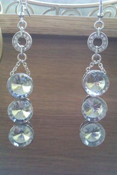 Dazzling Crystal Drop Earrings