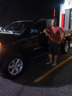 Ready to rock out and get it done with his new 2013 Nissan Titan