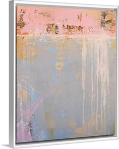 Erin Ashley Solid-Faced Canvas Print Wall Art Print entitled Love Notes, None Contemporary Abstract Art, Modern Art, Contemporary Artists, Abstract Canvas, Canvas Art, Big Canvas, Abstract Print, Abstract Paintings, Canvas Size