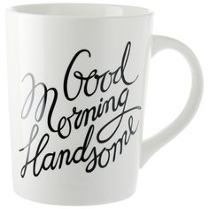 For The Guy Who Isn't A Morning Person If your sweetie is the kind of guy who hates getting up in the morning, drinking out of this mug might him make a little more bearable during those wee hours.