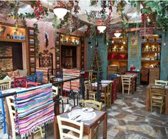 Restaurant Mpaxtses, Queen's Olga street, east Thessaloniki. A traditional greek taverna. With pure homemade food baked by good ladies-moms