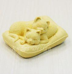soap mold silicone soap mold LV004 Lazy Silicone Soap by Kudosoap