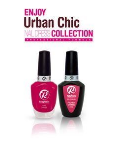RobyNails Nail Dress Fuchsia Charme