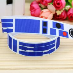7/8'' Free shipping star war printed grosgrain ribbon hair bow headwear party decoration wholesale OEM 22mm H4736-in Ribbons from Home & Garden on Aliexpress.com | Alibaba Group