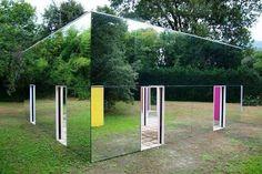 Зеркальный дом. Очень необычно...