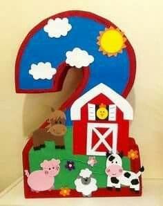 Piñata de la granja