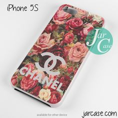 floral chanel 2 Phone case for iPhone 4/4s/5/5c/5s/6/6 plus
