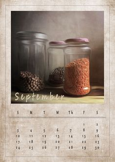 Printable, kitchen decor - download, print & hang on the wall. Enjoy September freebie -> http://ow.ly/EwdW30eQMKr