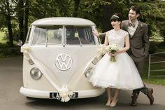 1960s VW & Leopard Print Theme wedding