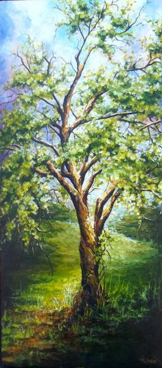 Tree painting ...I Love to Paint trees!