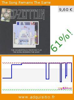 The Song Remains The Same (CD). Réduction de 61%! Prix actuel 9,60 €, l'ancien prix était de 24,69 €. Par Led Zeppelin. http://www.adquisitio.fr/atlantic/the-song-remains-the-same