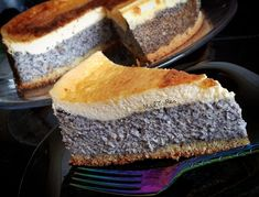 Poppy Seed Cake, Polish Recipes, Polish Food, Cornbread, Sandwiches, Deserts, Food And Drink, Xmas, Cooking Recipes