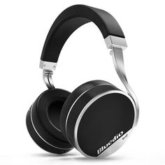 Bluedio Vinyl Plus 70mm Driver 3D Stereo HiFi AUX-in Line Out Bluetooth Headphone With Mic