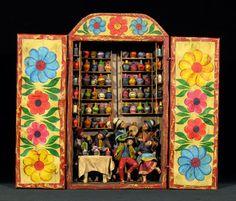 Cantina Retablo - Indigo Arts Gallery, Philadelphia, PA Peruvian Folk Art...Love this!