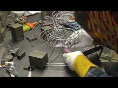"""Part 4: Building """"The Good Bean"""" Rolling Ball Sculpture - Forming and Welding Track, Completion - YouTube"""