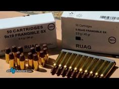 RUAG Frangible SX Ammunition - YouTube