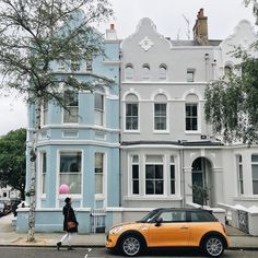 Notting Hill, Anna Dawson, Mansions, House Styles, Rose, Instagram Posts, Pink, Manor Houses, Villas