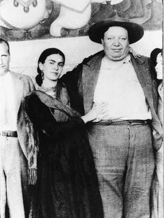 Frida y Diego Rivera.