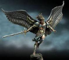 Bildergebnis für angel of darkness figur resin