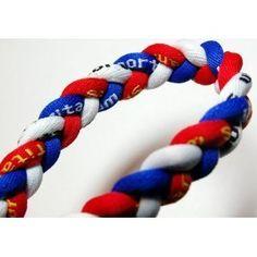 "20"" Blue/Red/White Titanium Sport Tornado Baseball/Softball Necklace - http://www.wonderfulworldofjewelry.com/jewelry/accessories/20-blueredwhite-titanium-sport-tornado-baseballsoftball-necklace-com/ - Your First Choice for Jewelry and Jewellery Accessories"
