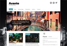 Free WordPress Theme – Avante