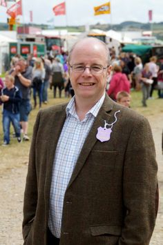 North Devon MP Peter Heaton-Jones enjoys his first North Devon Show as MP. Picture: Andy Keeble