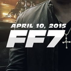 Official Poster from Fast and Furious 7
