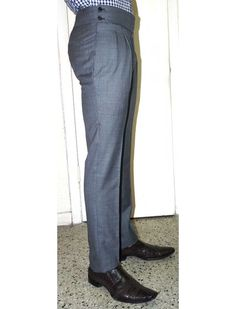 * NEW! Pre-Order Now * Super 150's Wool Pants by Giovanni Marquez - 8 Colors