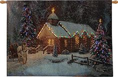 Christmas Chapel Lighted Wall Hanging with Remote * You can get additional details at the image link.