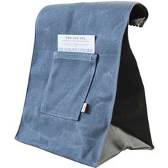 Peg and Awl Marlowe Waxed Canvas Lunch Bag (57 CAD) ❤ liked on Polyvore featuring home, kitchen & dining, food storage containers, slate, lunch sack, canvas sack, canvas lunch bag, lunch bag и canvas lunch sack