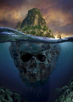 Les maisons & îles de pirates